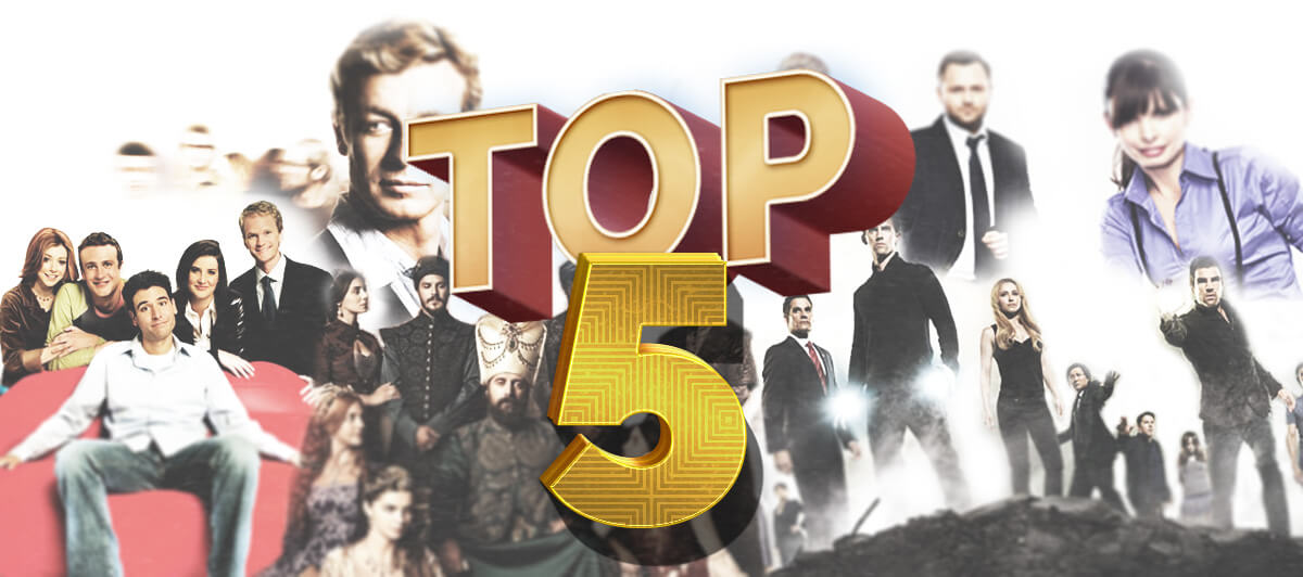 TOP 5 seriali