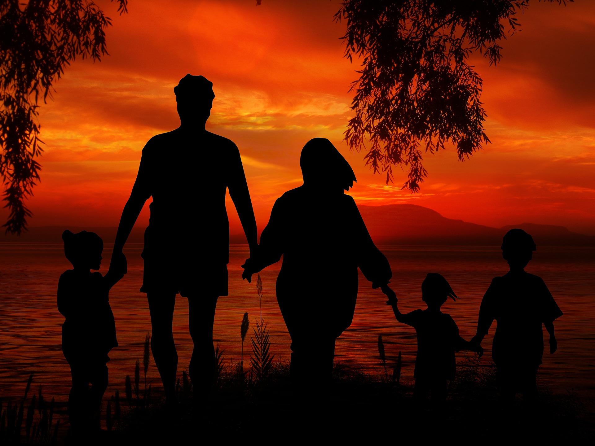 Gdy rodzic staje się hieną szczęśliwa rodzina