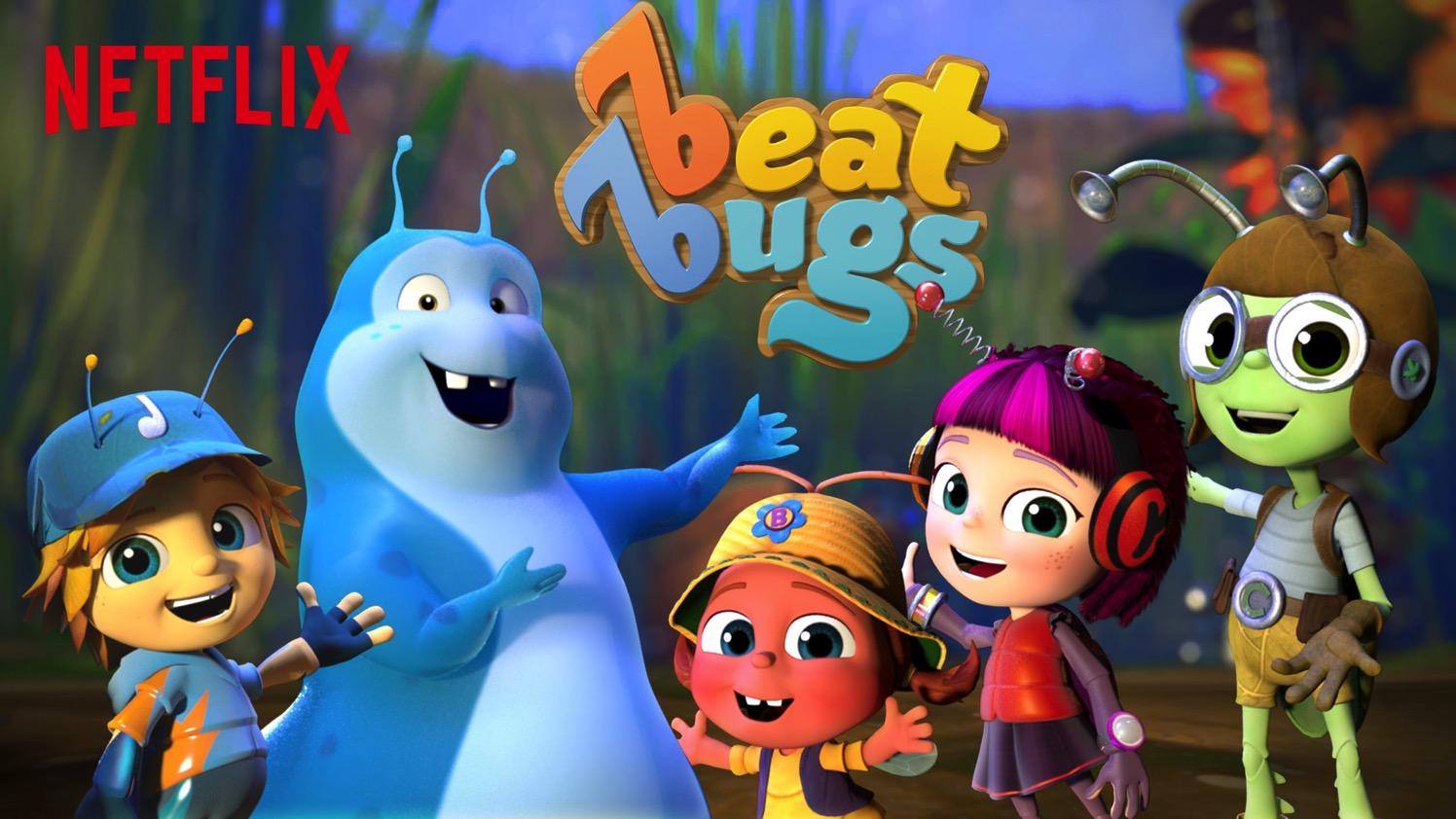 bajki dla dzieci Beat Bugs