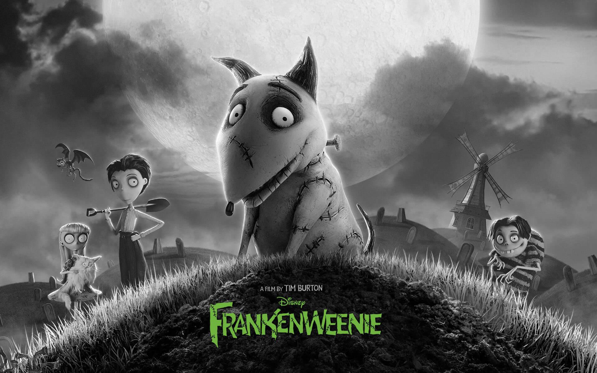 filmy na Halloween Frankenweenie
