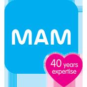 MAM Baby logo