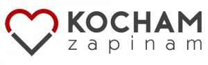 bezpieczny fotelik samochodowy logo akcji Kocham Zapinam