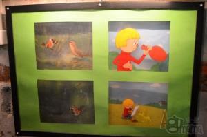 Se-ma-for Muzeum Animacji kadry zaczarowany ołówek i wróbel ćwirek