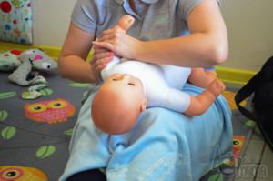 masaż Shantala masaż rączek