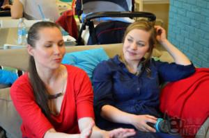masaż Shantala Renia i Ania