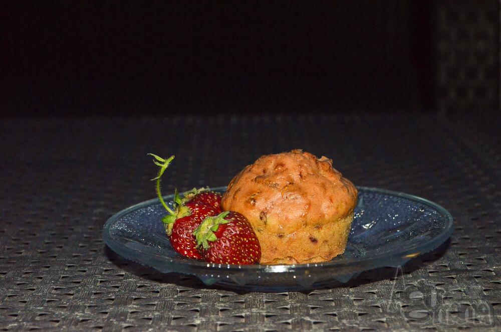 muffiny z buraka i marchewki