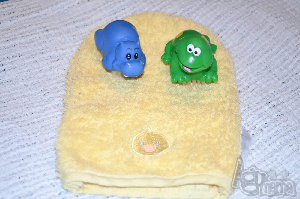 kąpiel dziecka myjka