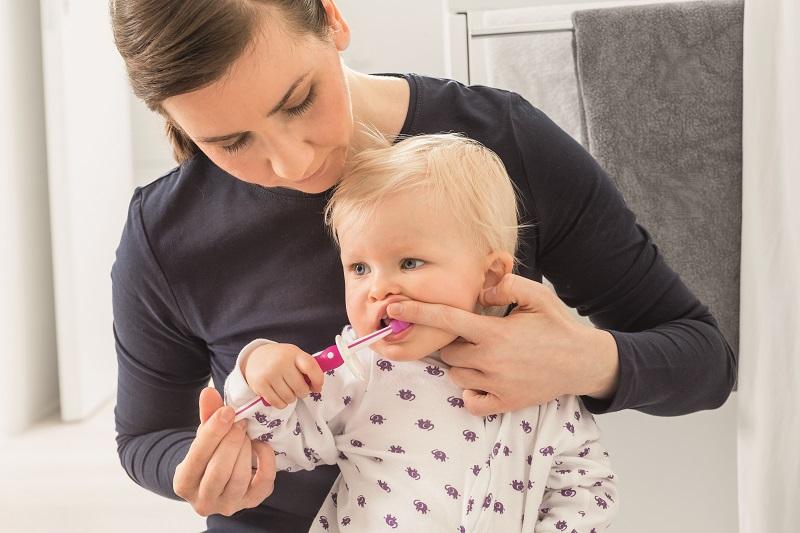 Jak dbać o zęby dziecka wspólny trening