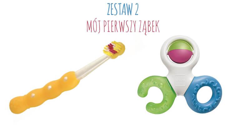 Jak dbać o zęby dziecka zestaw 2