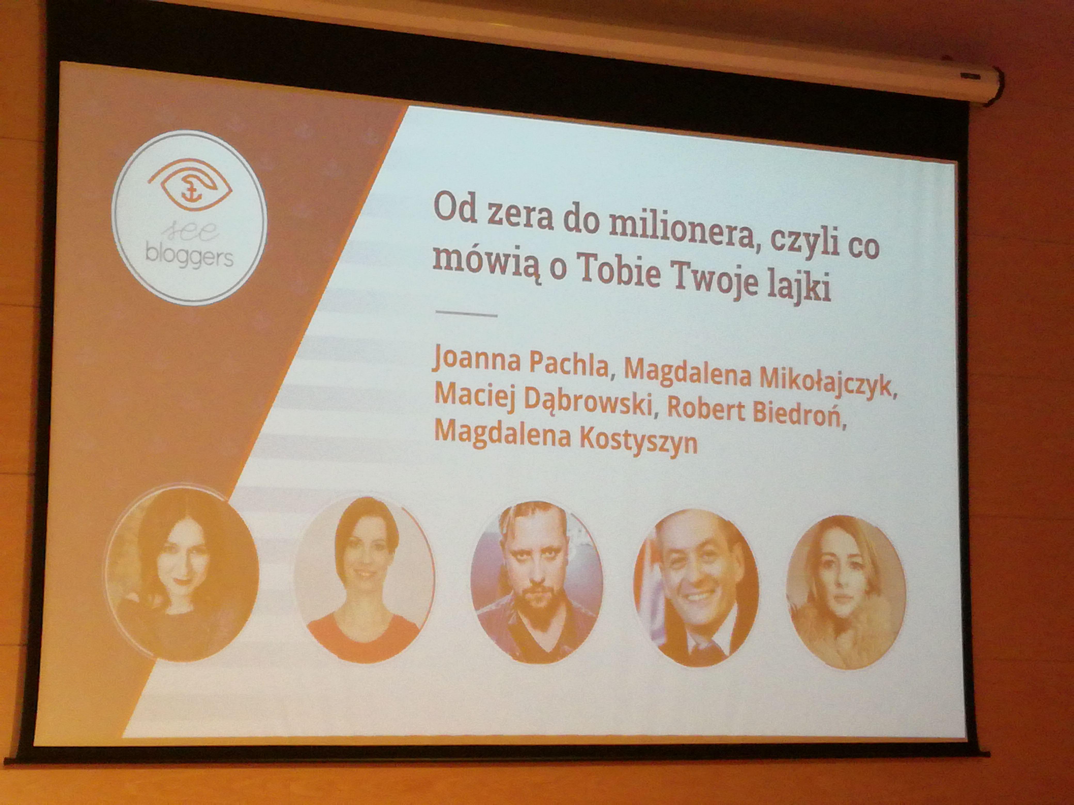 SeeBloggers panel
