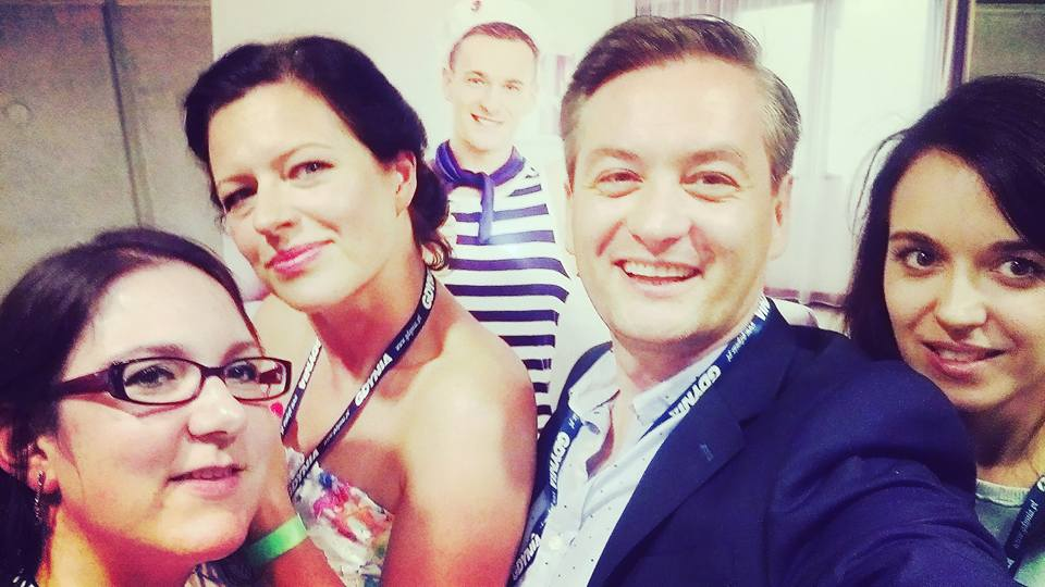SeeBloggers selfie z Biedroniem