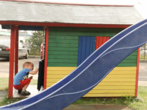 podróż samochodem z małym dzieckiem Zajazd Jurajski