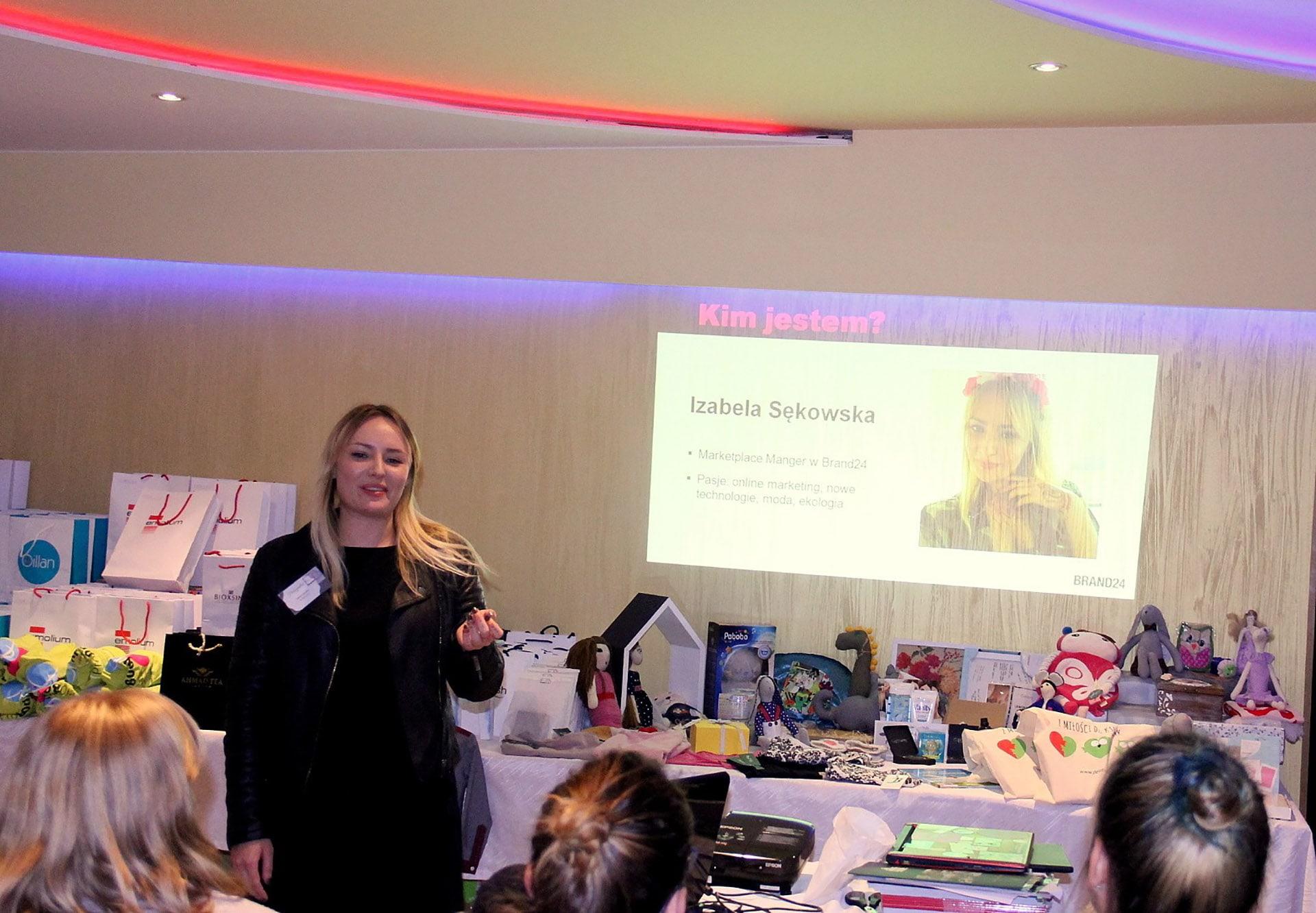 Blogowy Szła Mam 2016 prezentacja Brand24