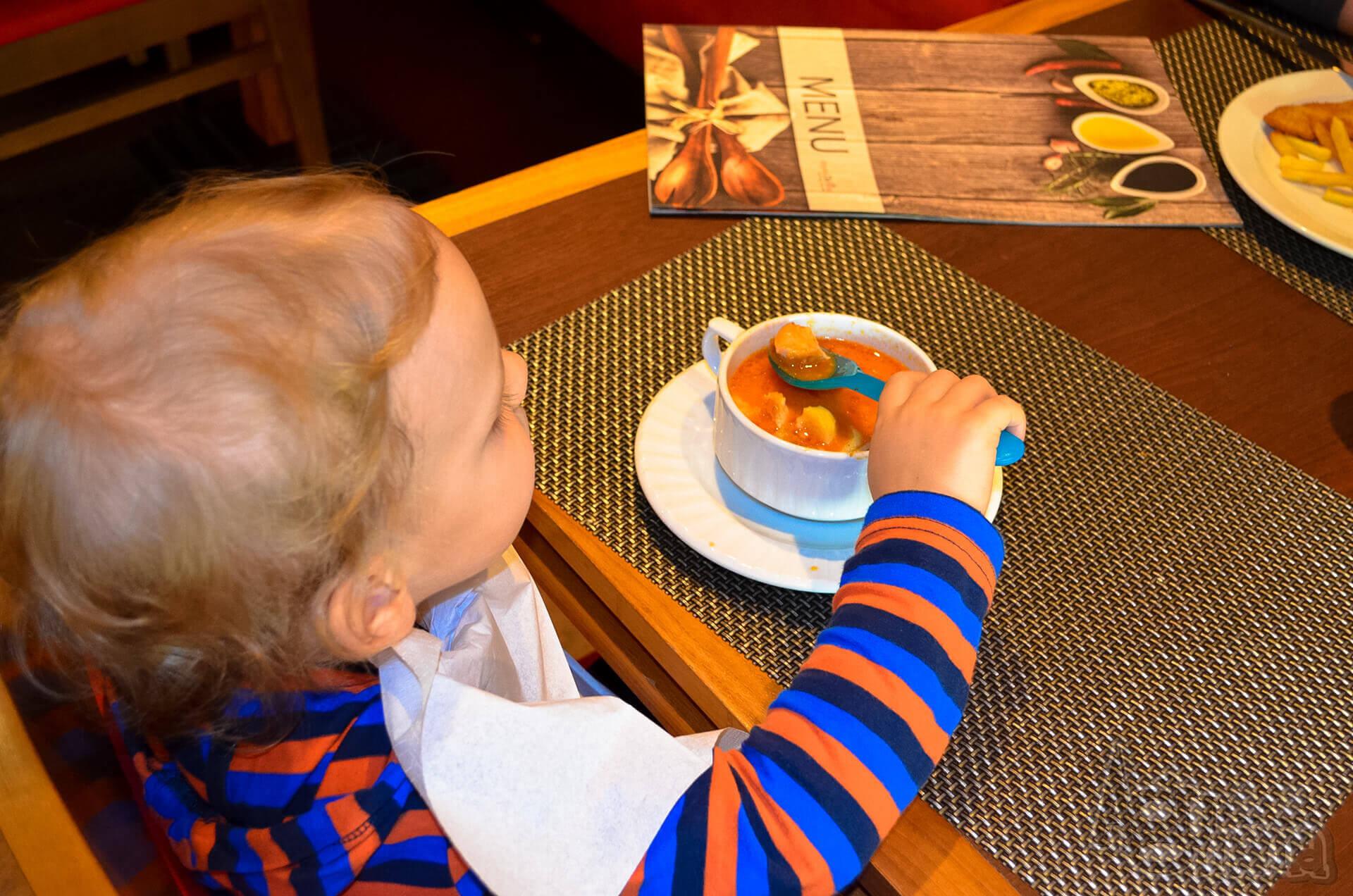 Rodzinne obiady w DeSilva pomidorowa