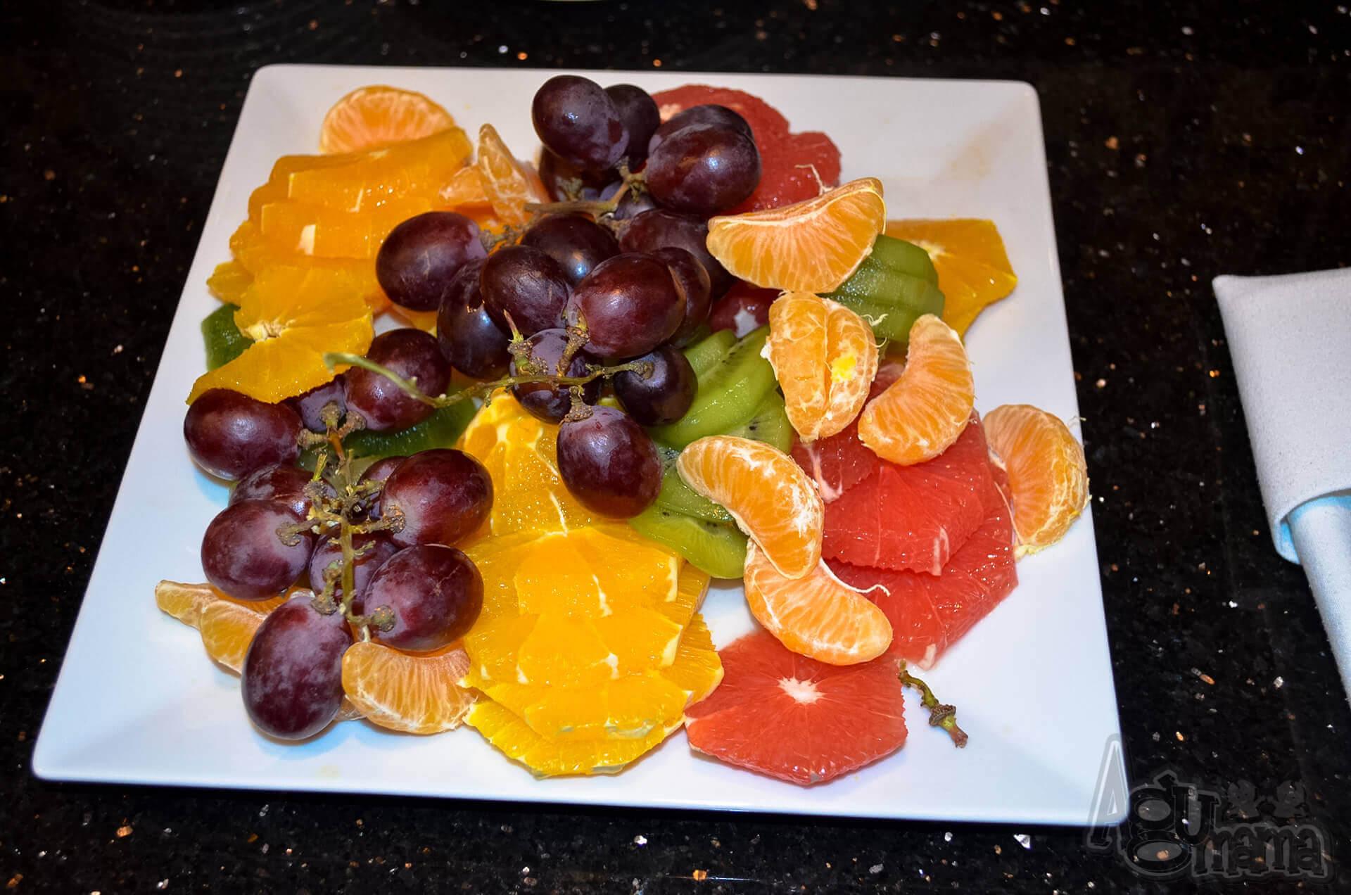 Rodzinne obiady w DeSilva owoce