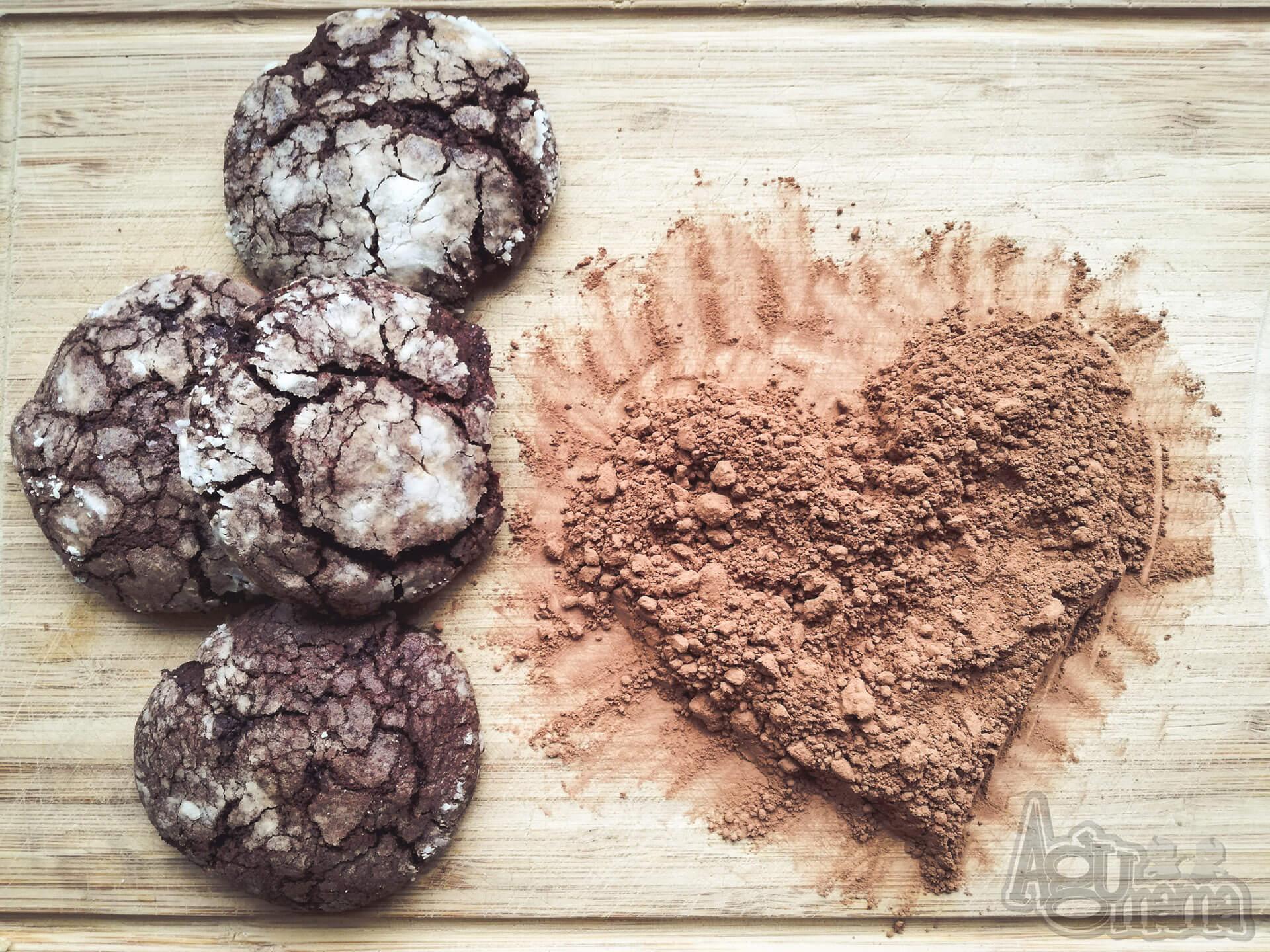 popękane ciasteczka czekoladowe tytułowe