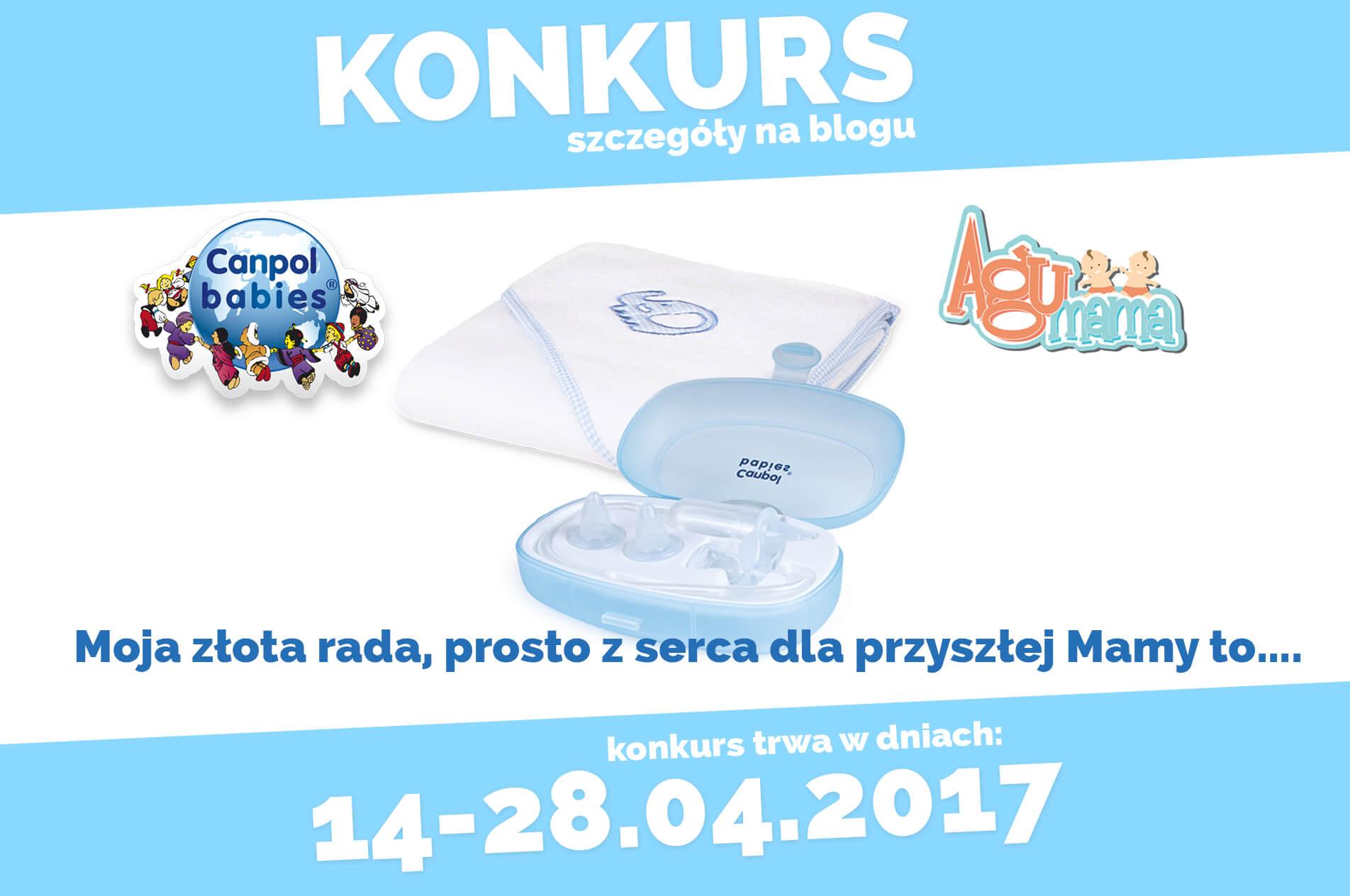 konkurs z Canpol Babies kwiecień