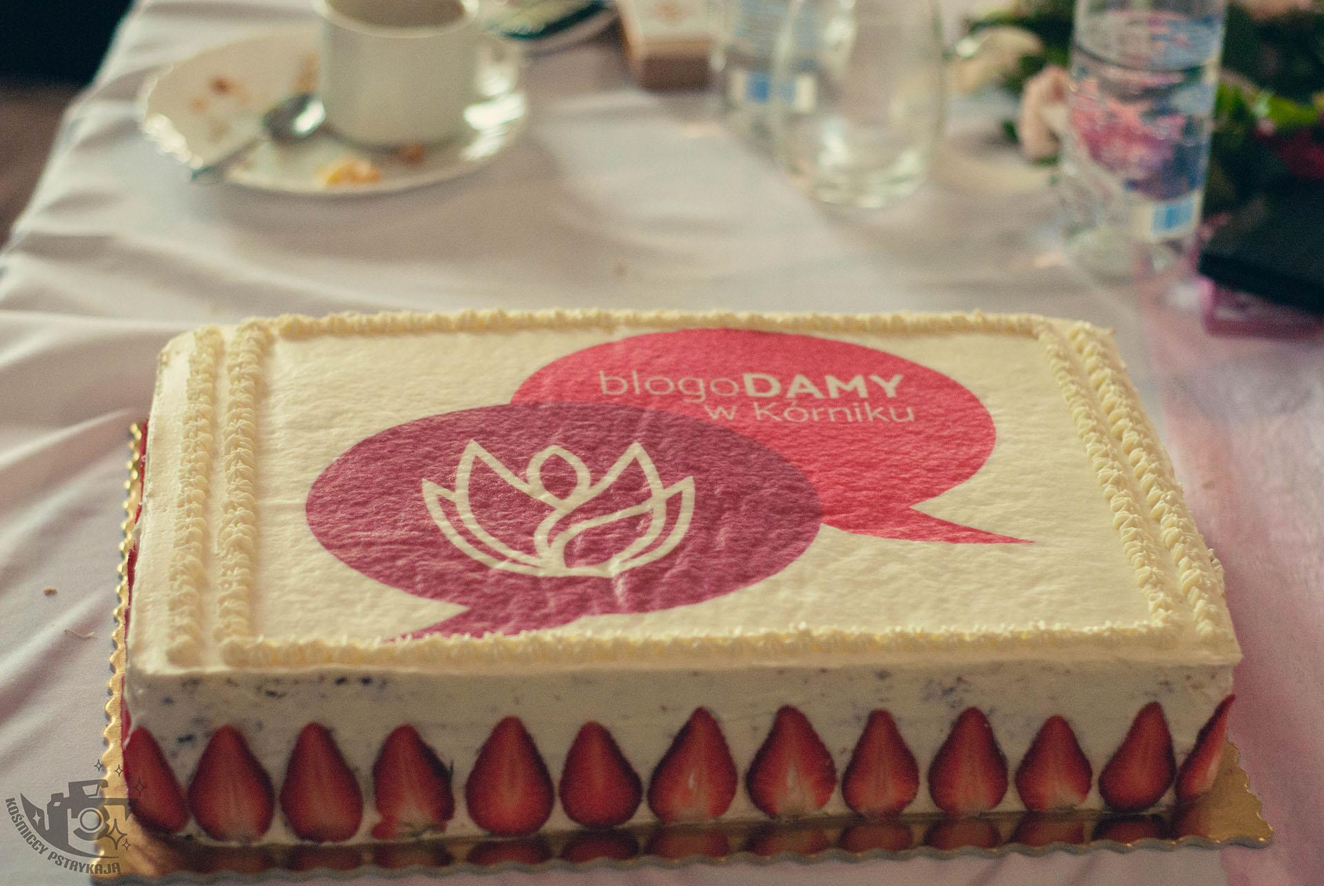 BlogoDamy w Kórniku tort