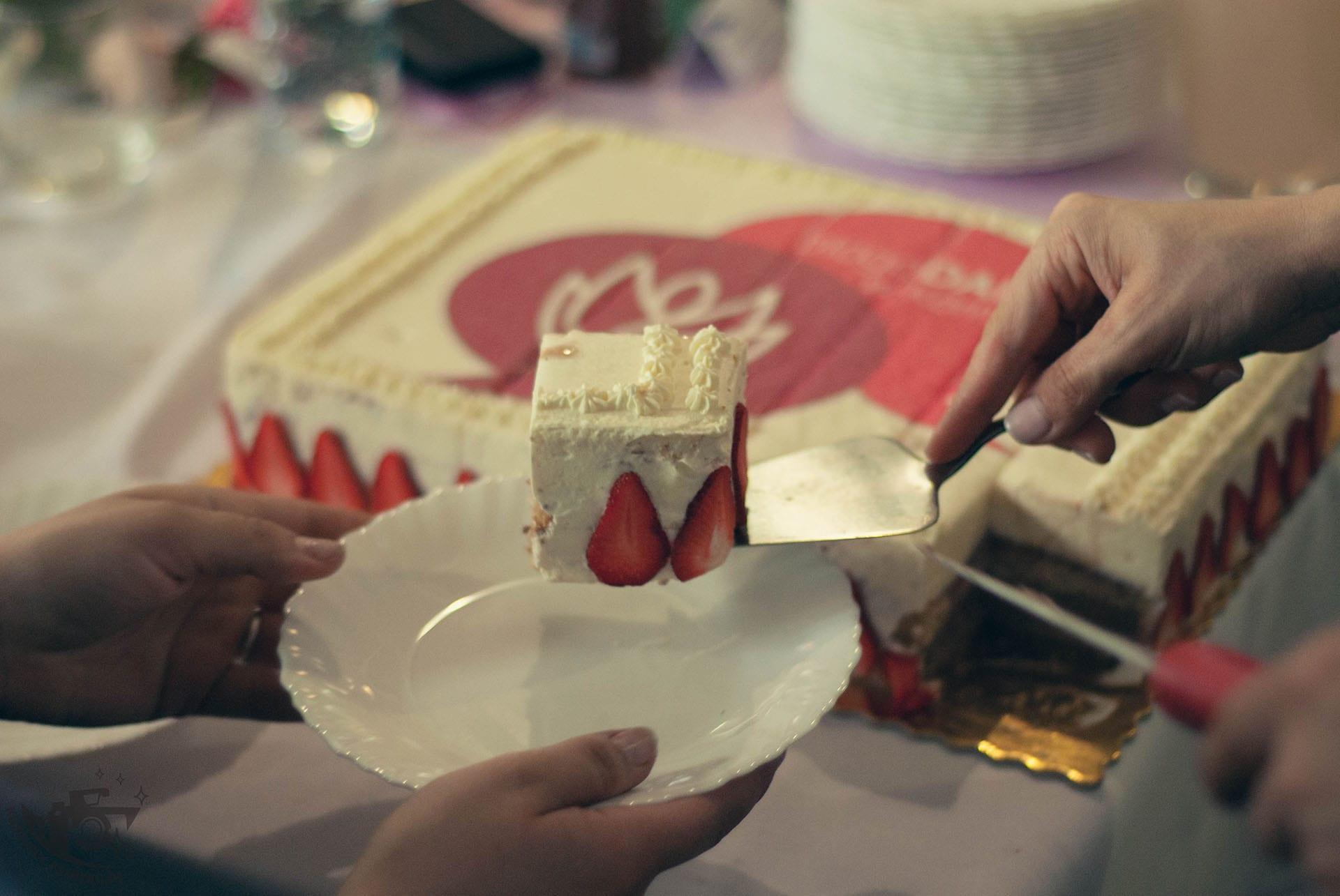 BlogoDamy w Kórniku kawałek tortu