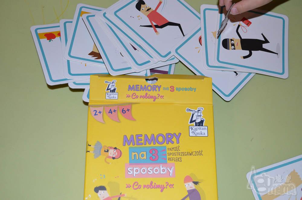 nauka zapamiętywania Memory na 3 sposoby co robimy