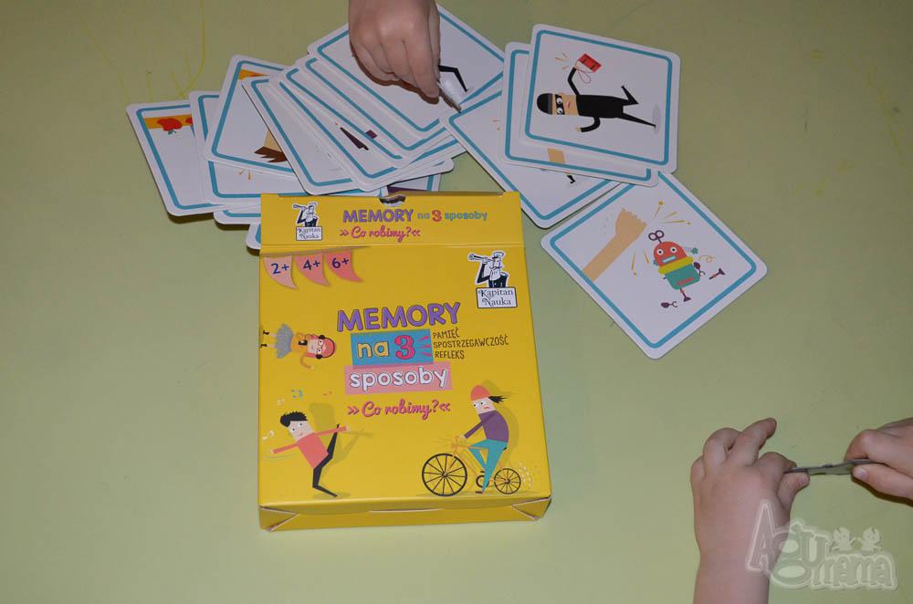 nauka zapamiętywania Memory na 3 sposoby
