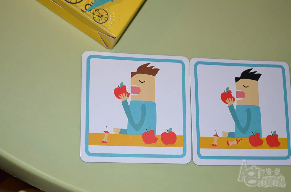 nauka zapamiętywania pan je jabłka