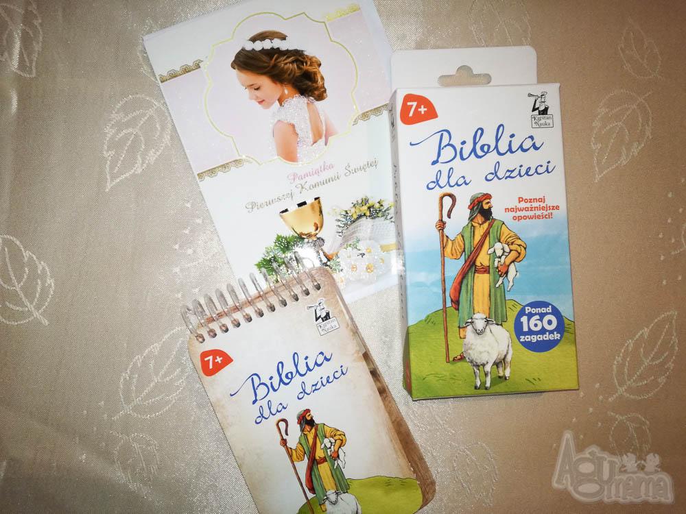 pomysł na prezent komunijny biblia dla dzieci