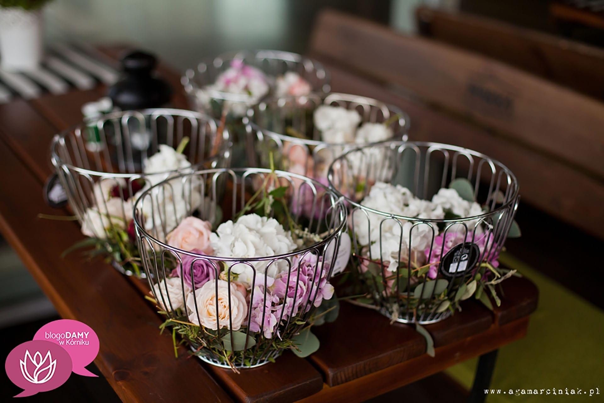 BlogoDamy w Kórniku kwiaty na wianki