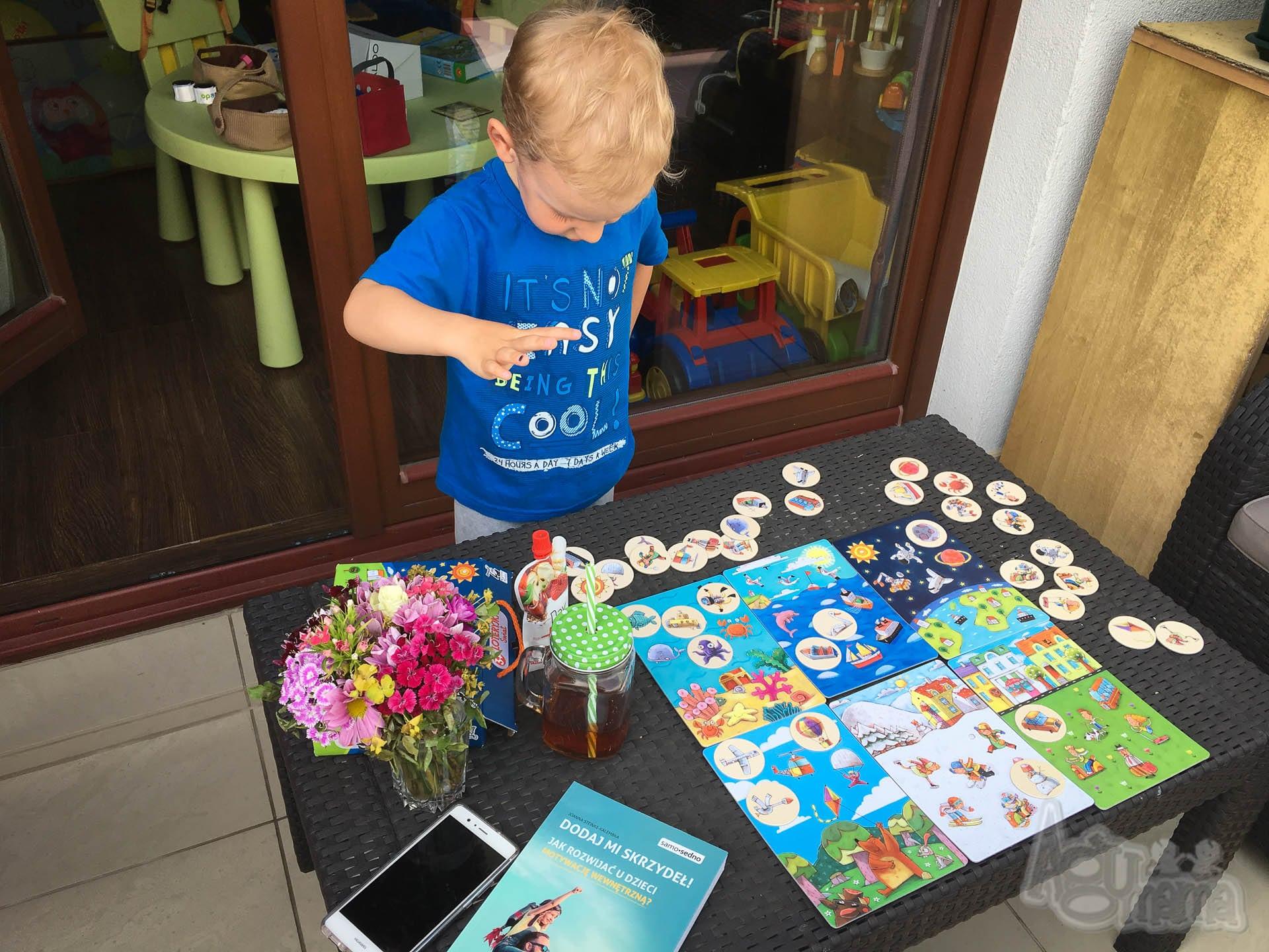 sposoby na nudę dla dzieci Wiercisław na tarasie