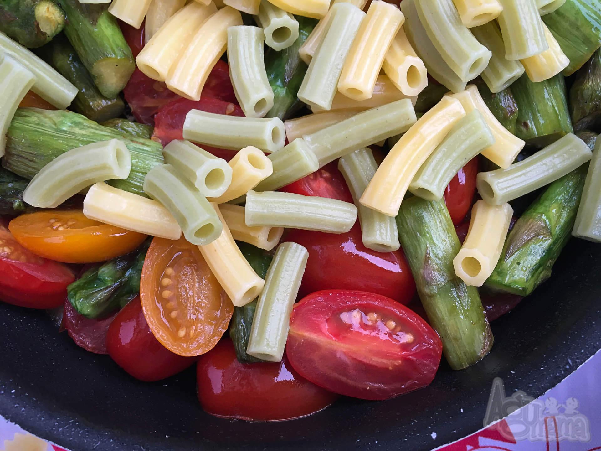 agumama makaron dla dzieci lubella 8 warzyw
