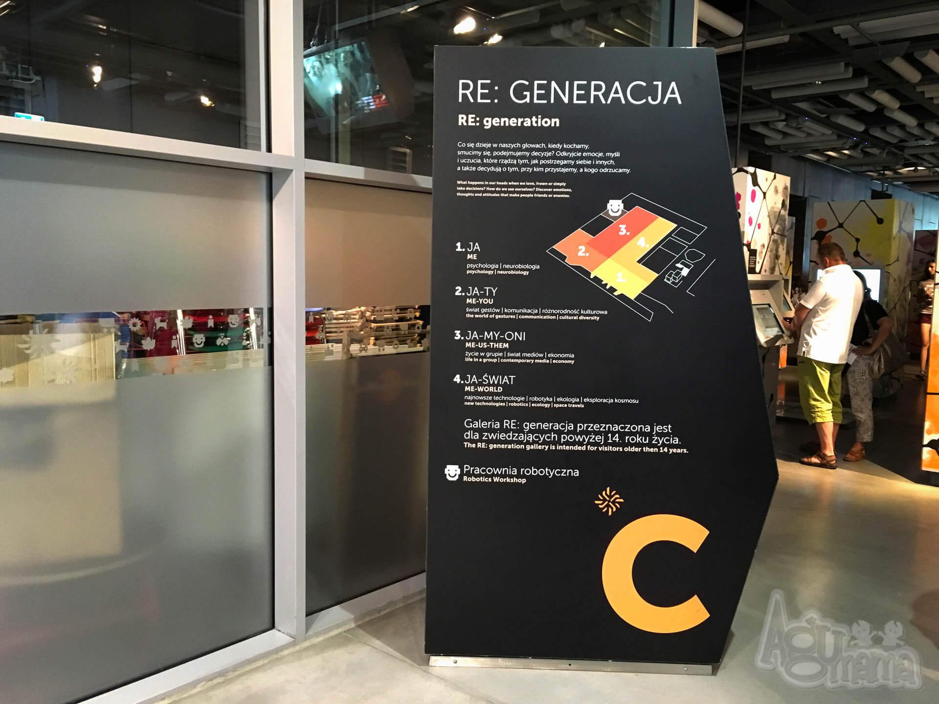 Centrum Nauki Kopernik re generacja