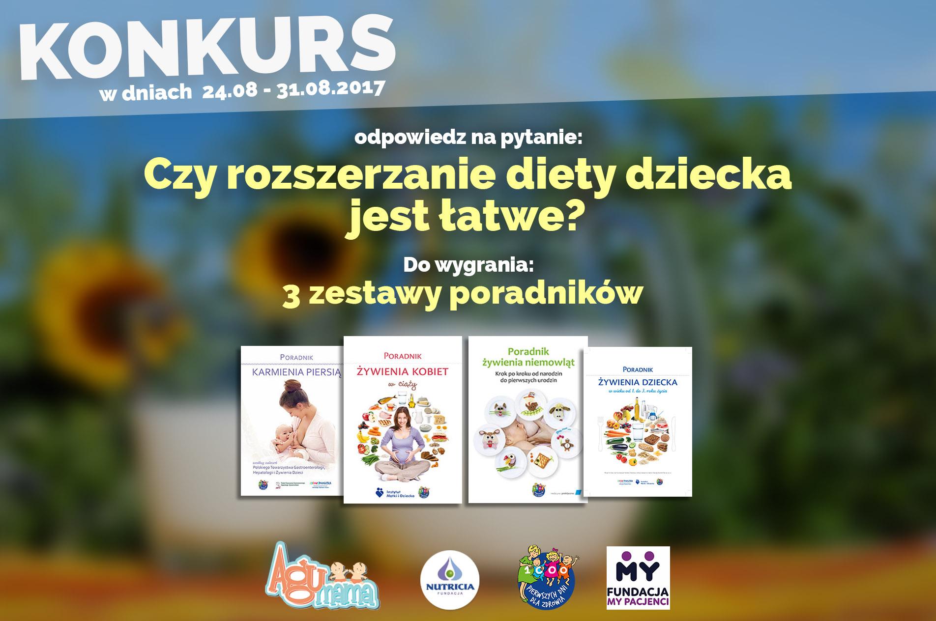 profilaktyka otyłości u dzieci plakat FB
