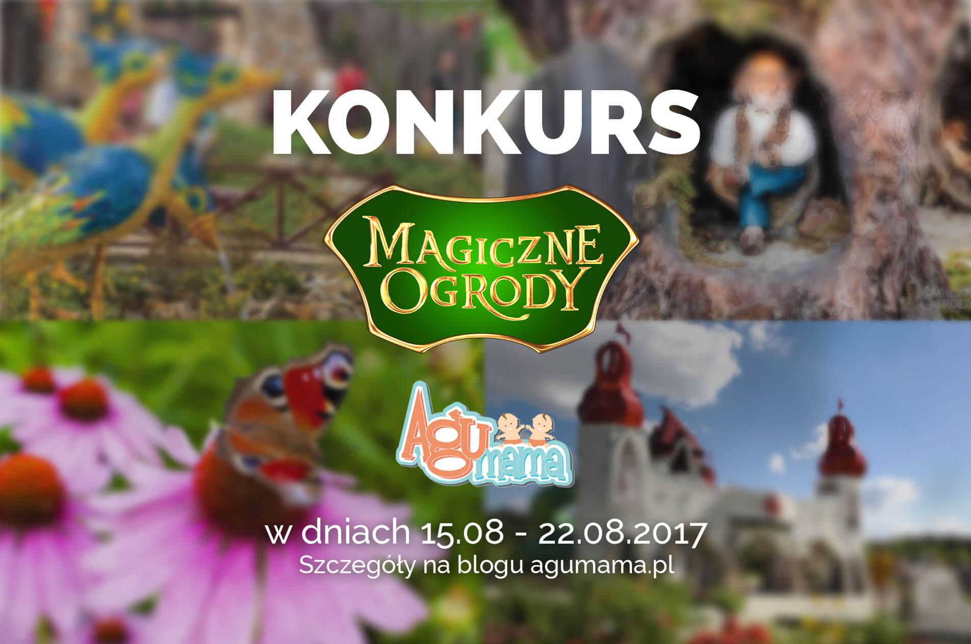 bilet do magicznych ogrodów plakat konkursowy