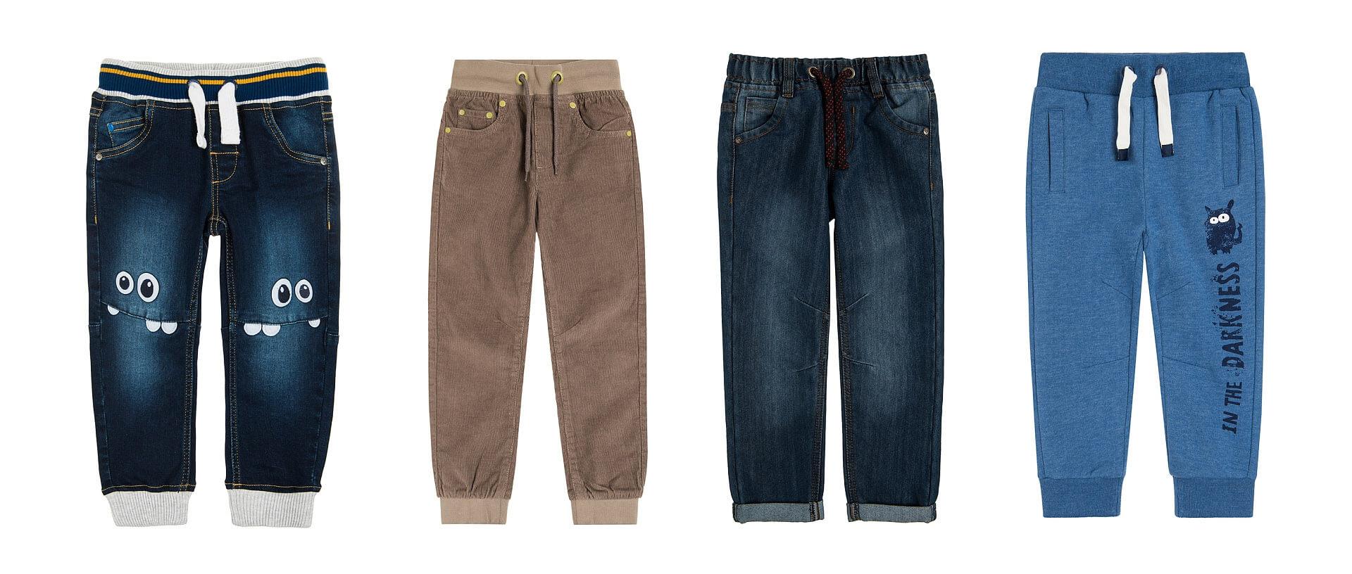 wyprawka przedszkolaka spodnie