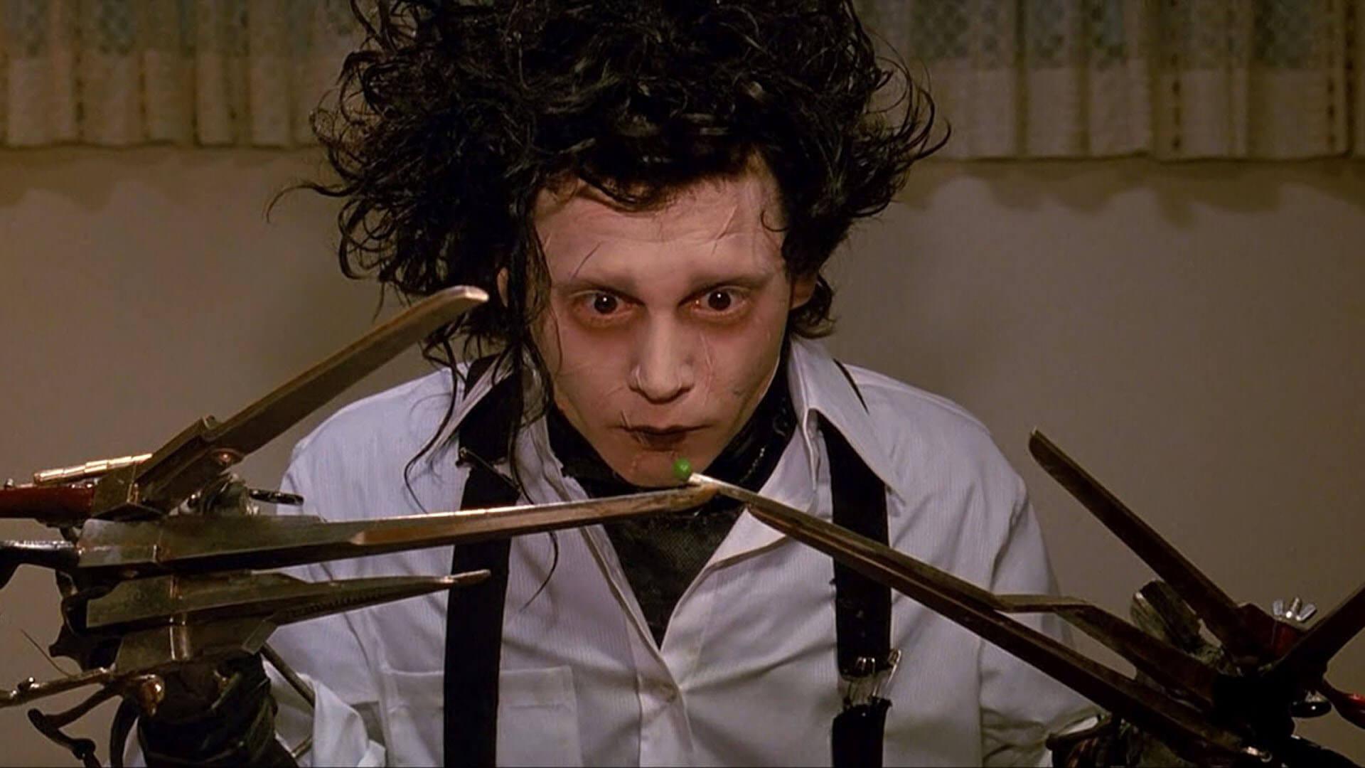 filmy na Halloween Edward Nożycoręki