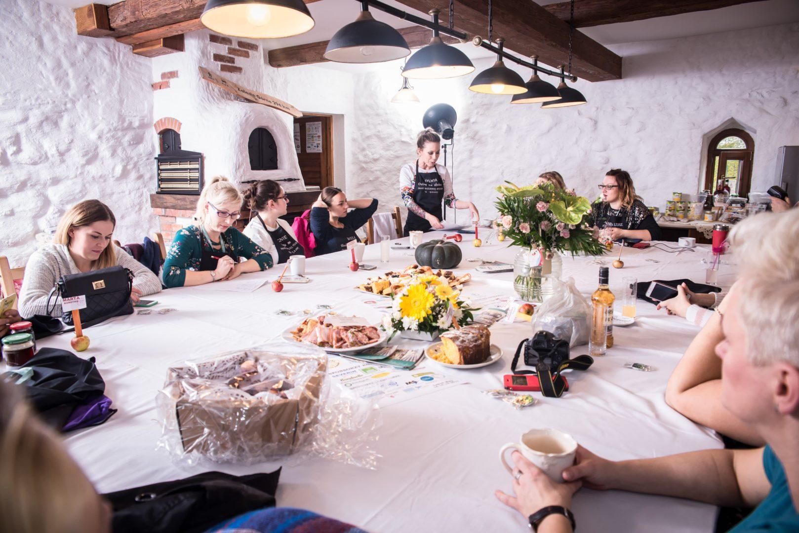 Smaki Mazurskiej Spiżarni warsztaty kulinarne