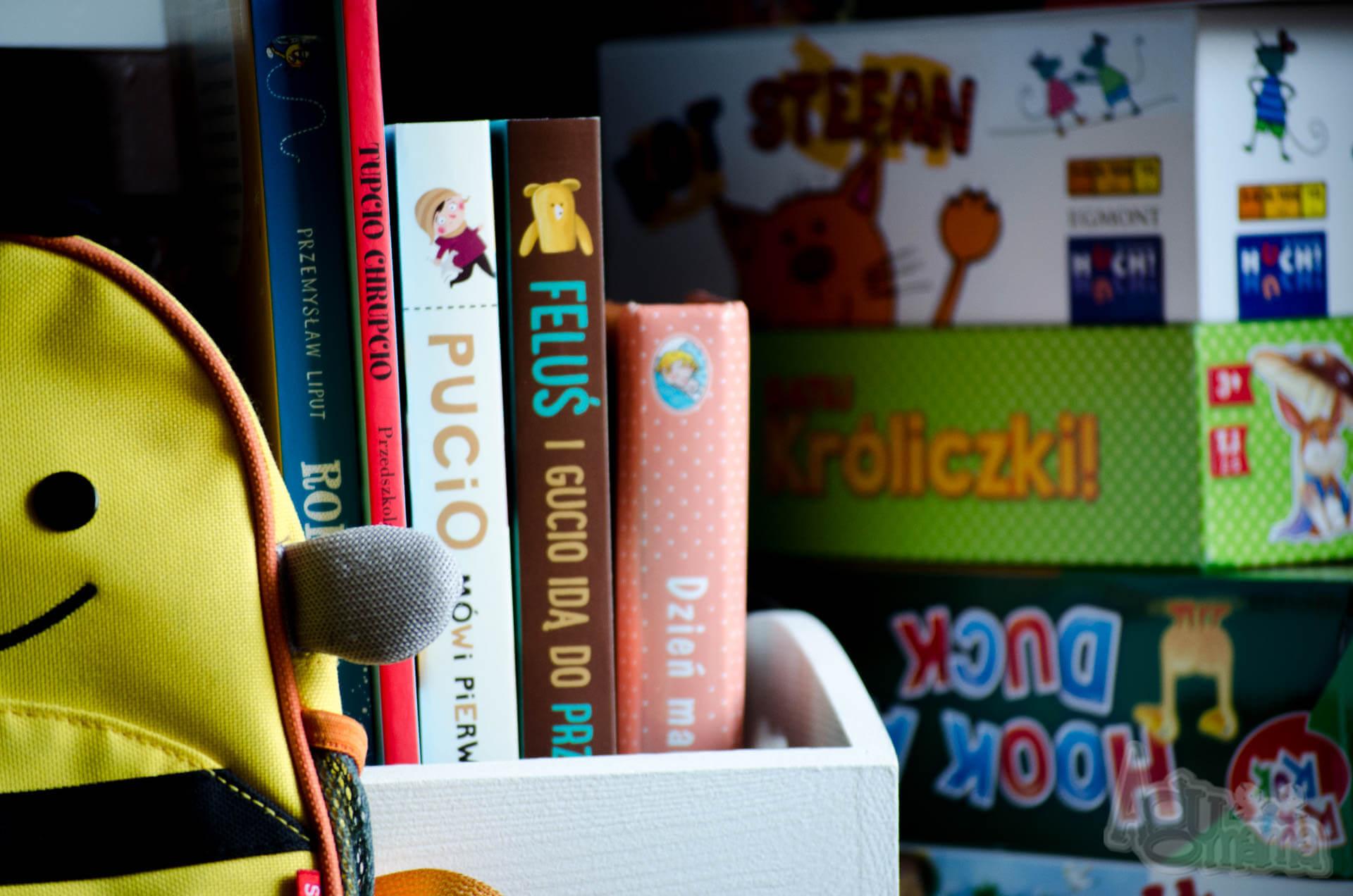 dziecko idzie do przedszkola książki