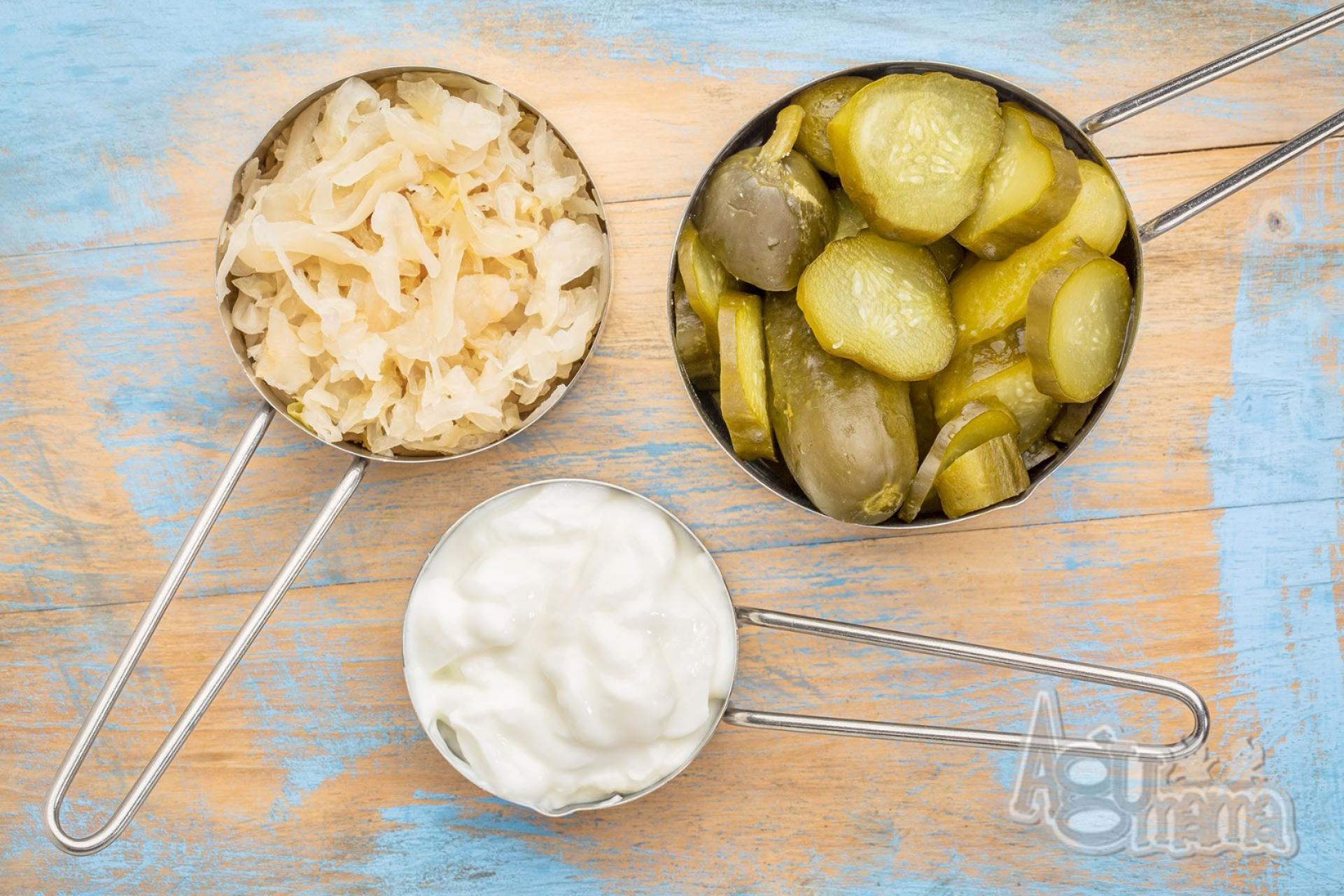 naturalne probiotyki czyli kiszonki i przetwory mleczne