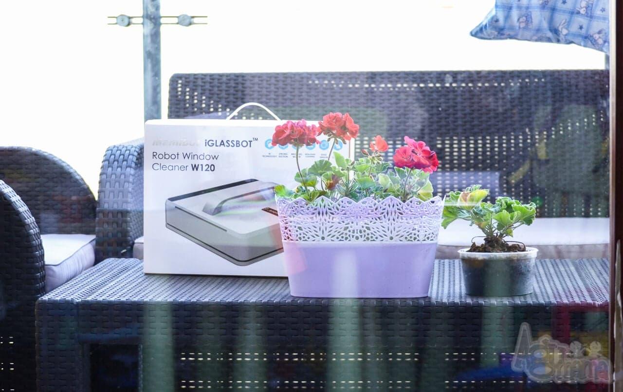 glassbot robot do mycia szyb Opakowanie