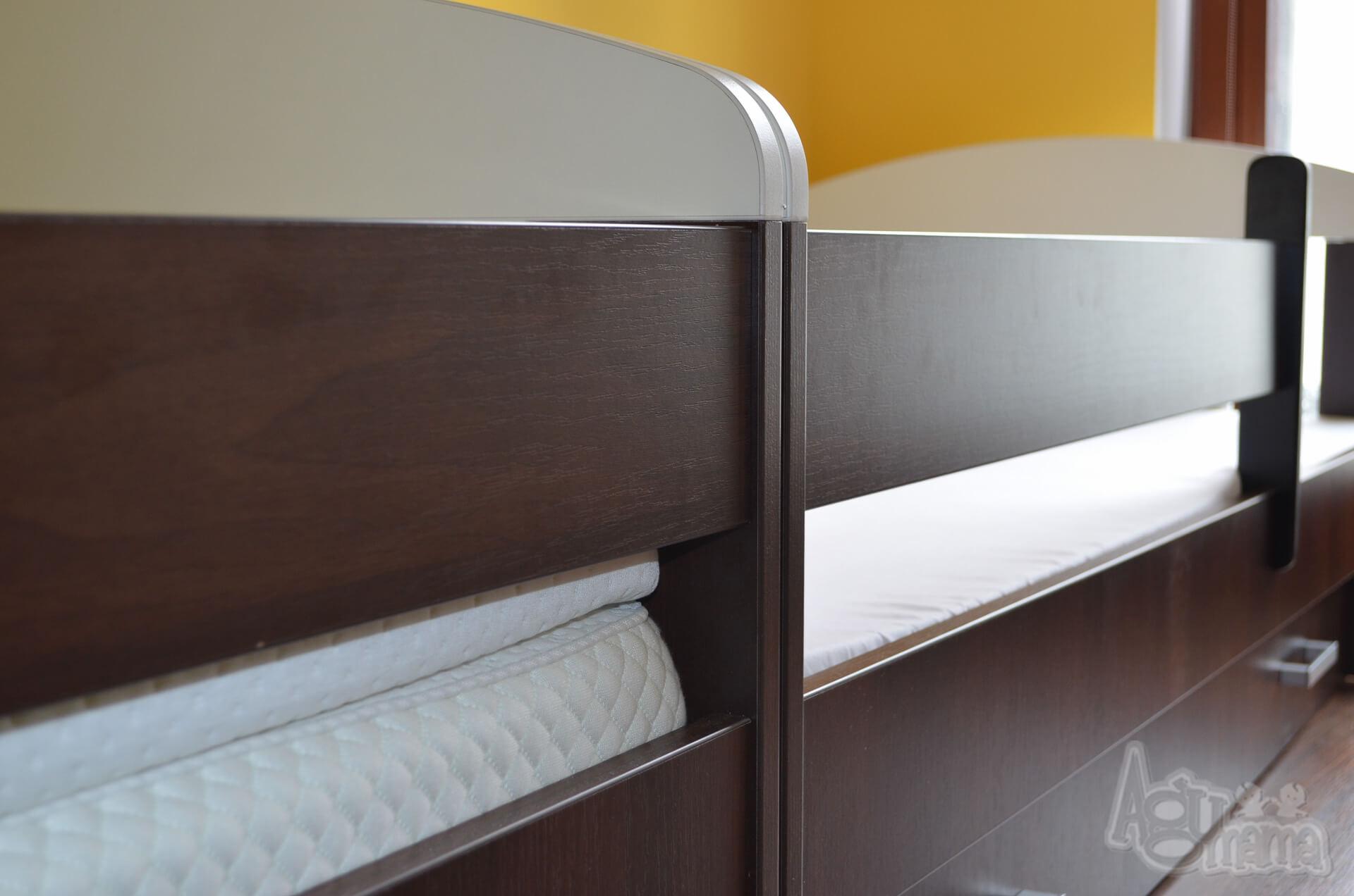 materac plantpur baby widok na łóżka