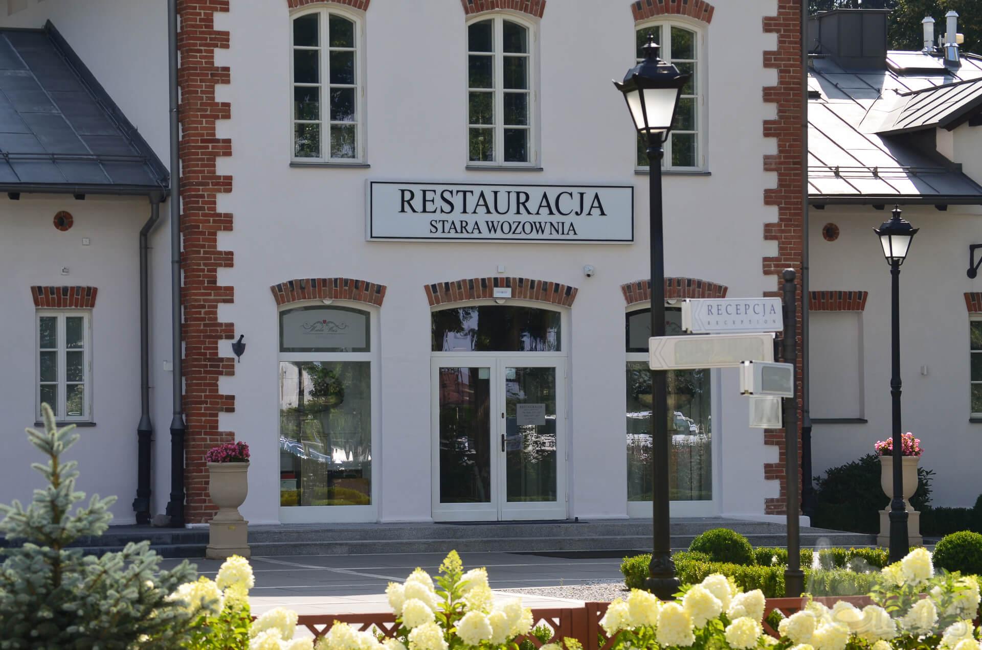 Pałac Mała Wieś Stara Wozownia