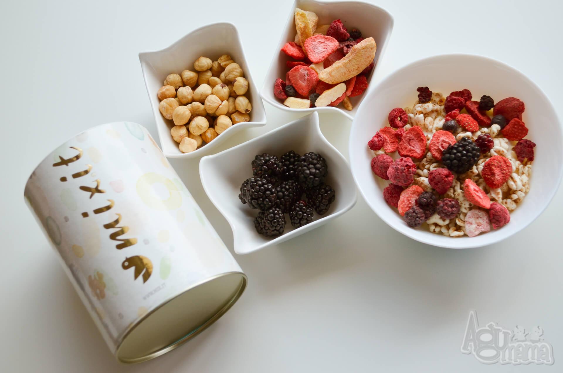 zdrowe śniadanie zestaw mixit