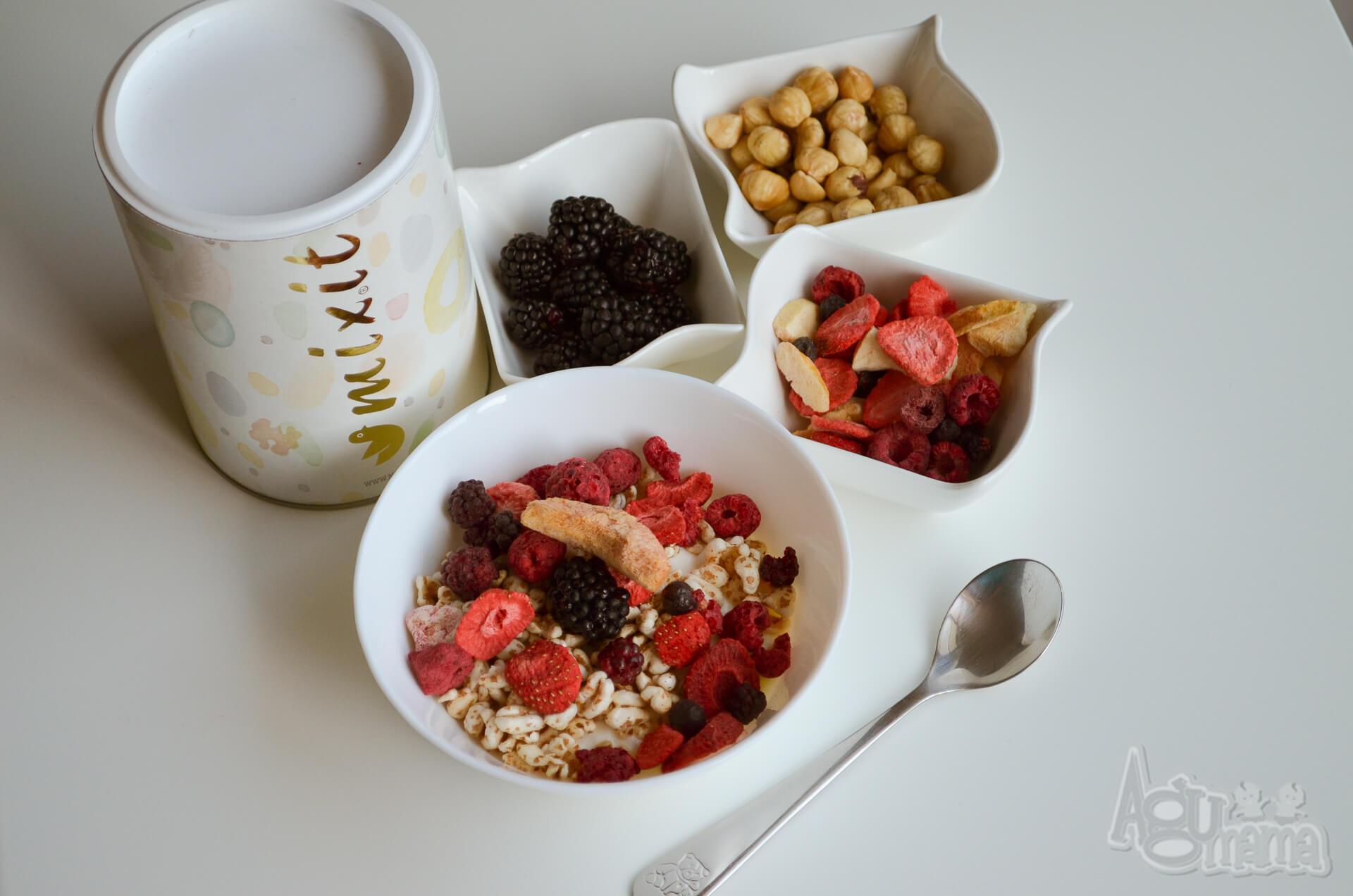zdrowe śniadanie zestaw od mixit