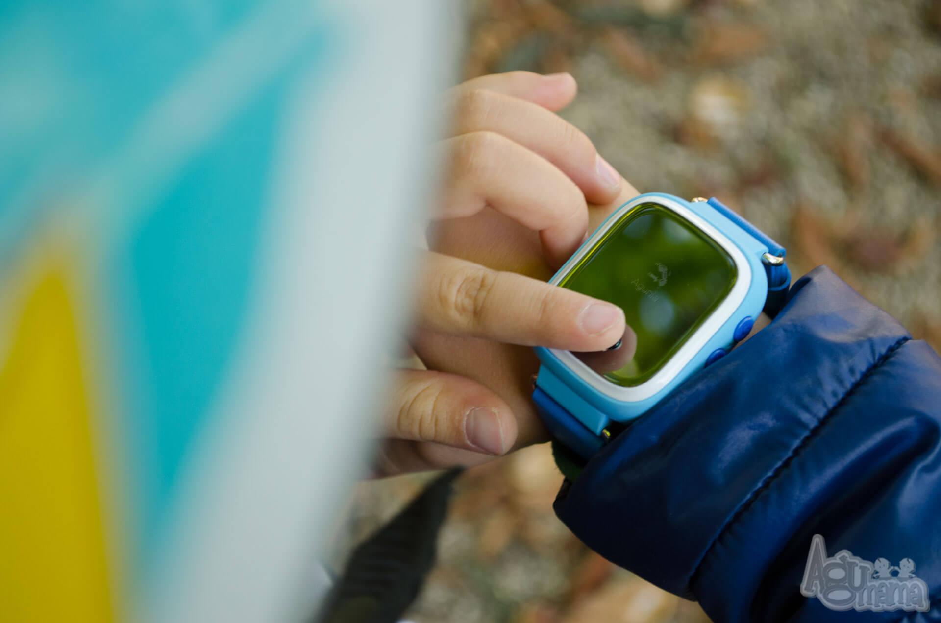 zegarek GPS dla dziecka wysyłanie sygnału SOS