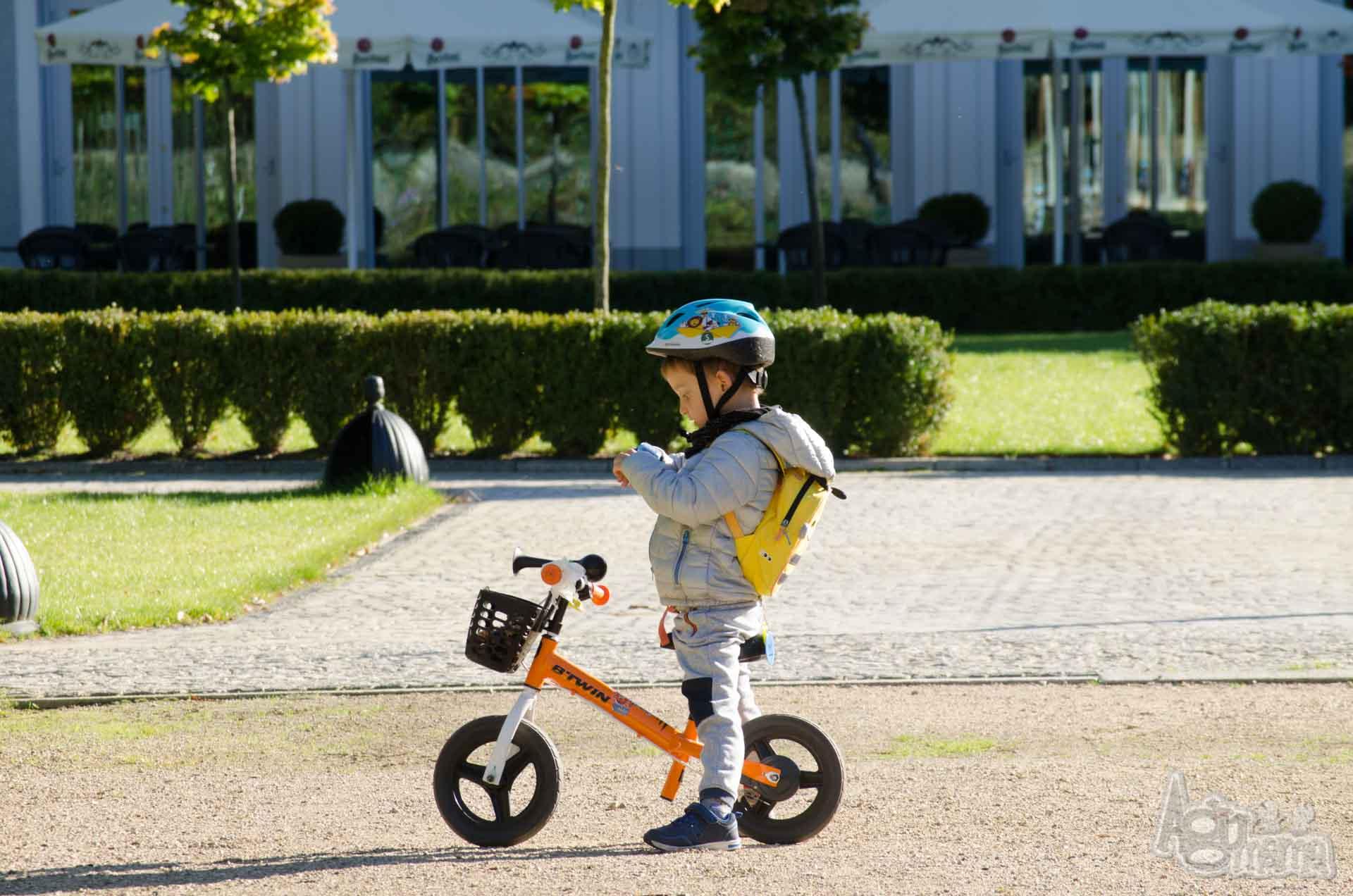zegarek GPS dla dziecka Żółwik na rowerze