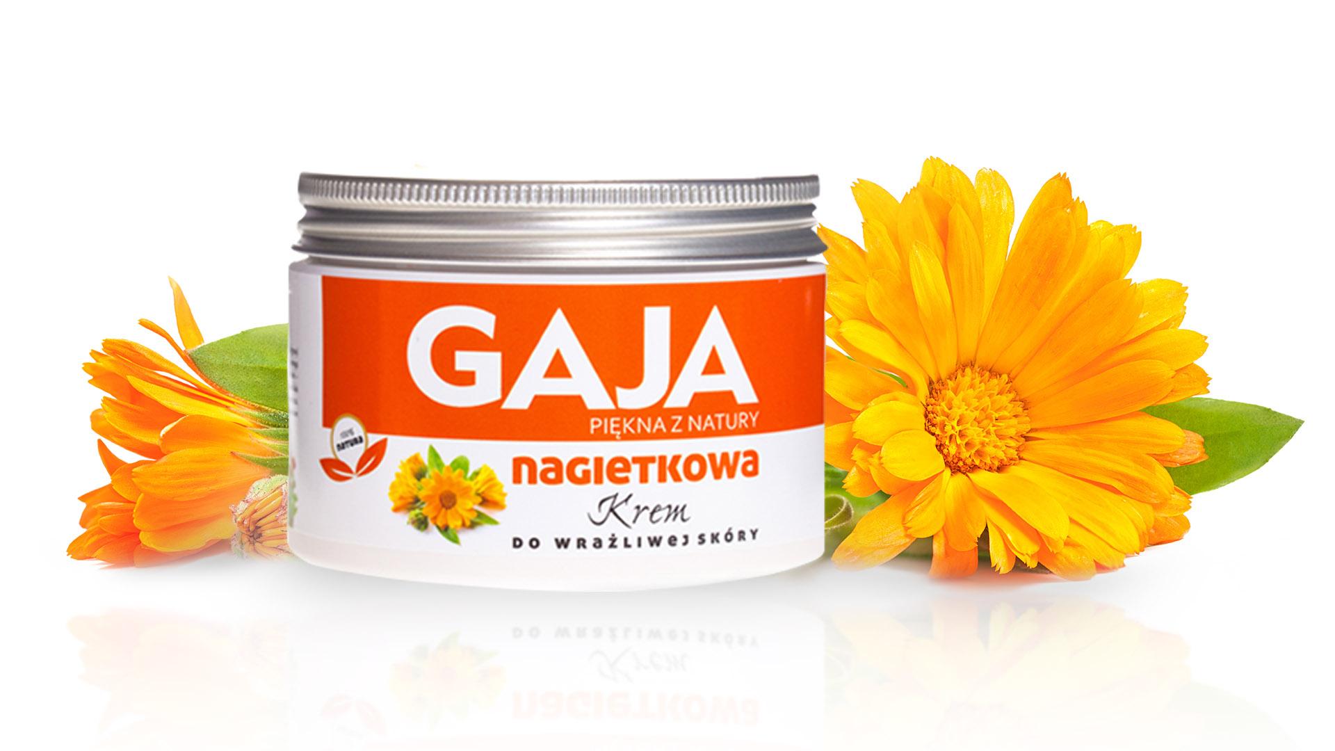 krem Gaia nagietkowa