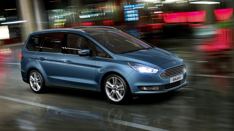 samochód rodzinny van Ford Galaxy