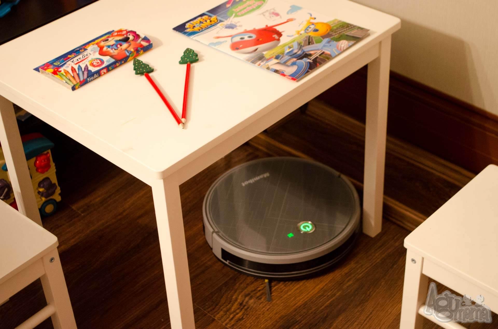 hybrydowy robot sprzątający