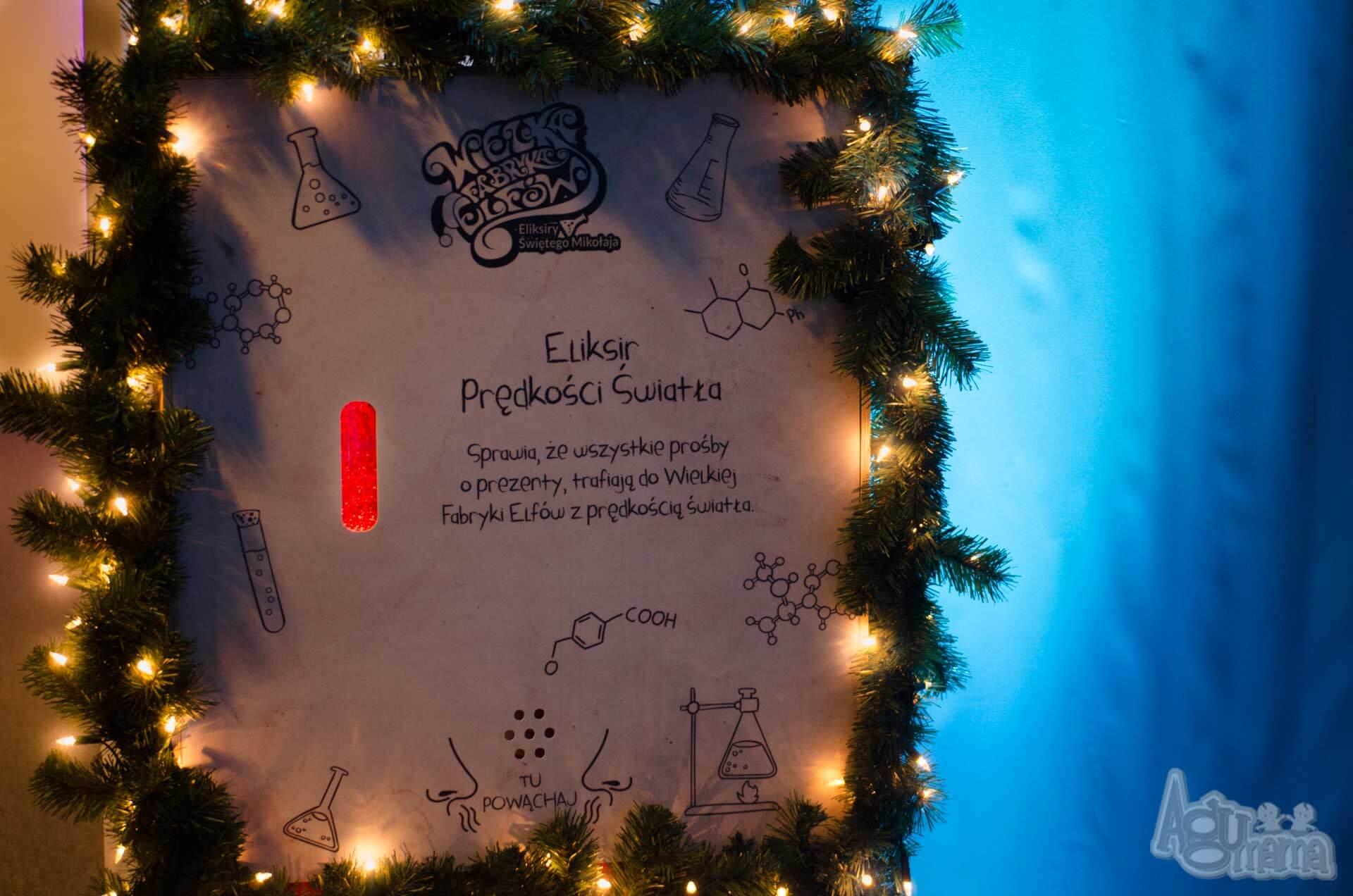 wielka fabryka elfów przepis na eliksir