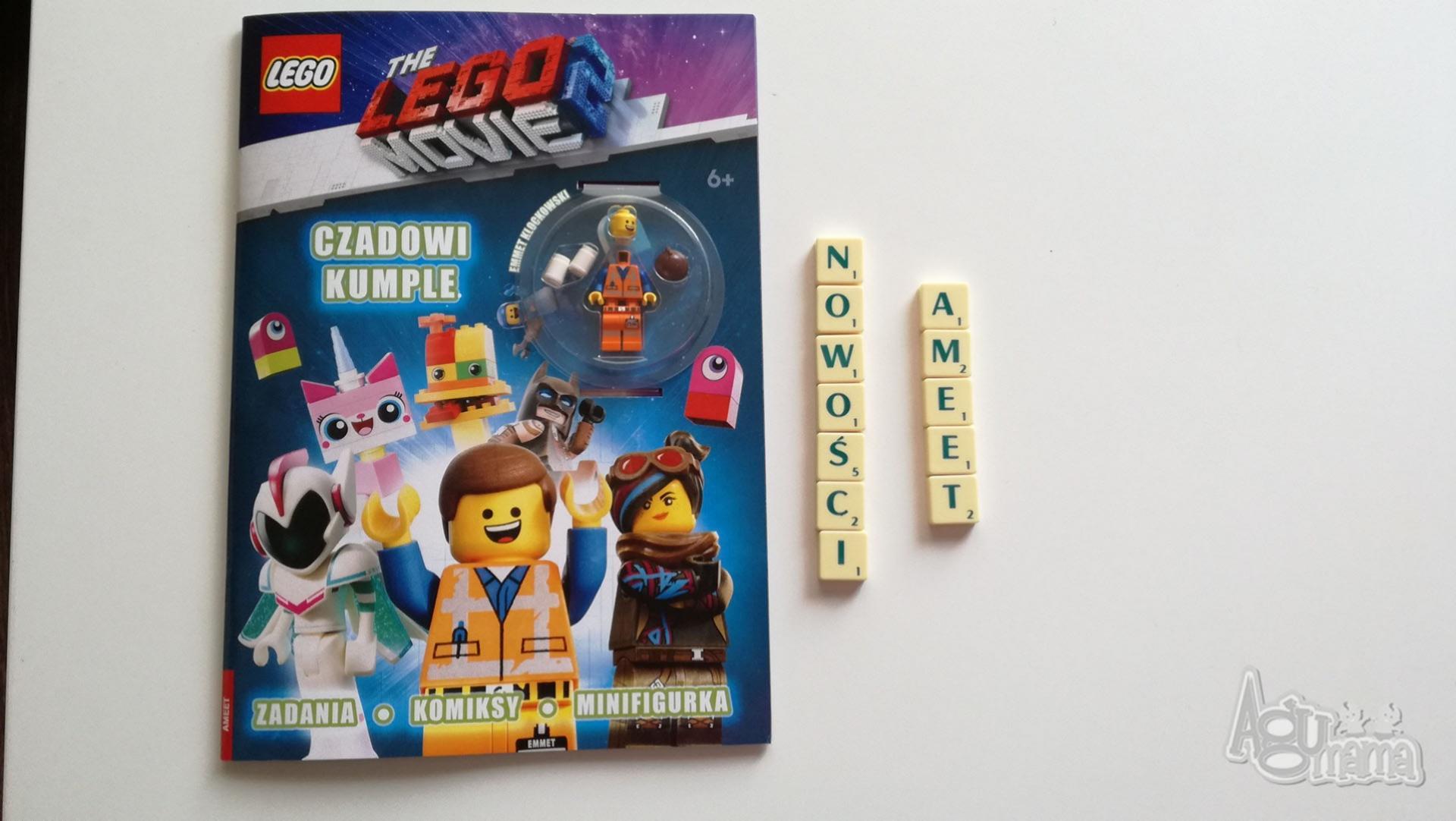 nowości Ameet zeszyt LEGO czadowi kumple
